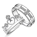 Best Male And Female Rings - Moneekar Jewels 925 Sterling Silver Plated Prince And Review