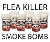 6 x Flea Bomb Foggers - Pet Dog Cat Fleas Flea House Room