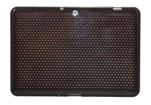 Luxburg® Diamond Design Schutzhülle für Samsung Galaxy Tab 2 10.1 GT-P5100 in Farbe Anthrazit Grau, Hülle Case aus TPU Silikon