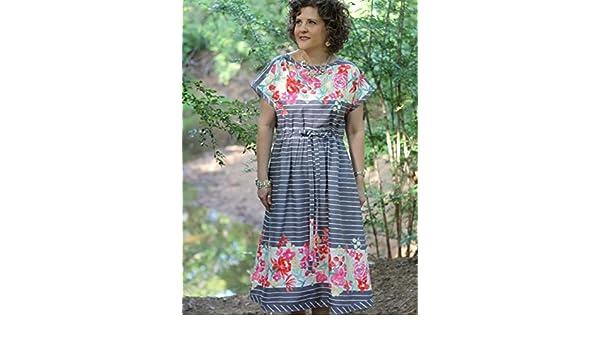 Serendipity Studio Damen Schnittmuster 152 die Heidi Kleid: Amazon ...