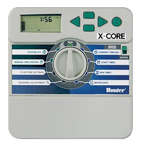 Hunter Ordinateur d'irrigation, X-Core 801i 8 Stations, Gris, 25 x 17 x 7 cm, na373