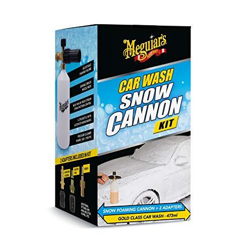 Meguiar's Gold Class Snow Foam Cannon Lance Kit Kärcher compatible Nilfisk compatible Bosch compatible