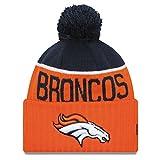 Denver Broncos New Era 2015 NFL Official Sideline Sport Knit Hat