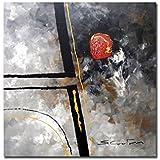 Cuadro Abstracto Hogar Decoración Arte pintura moderna, medidas 80x80cm