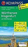 Wörthersee - Klagenfurt am Wörthersee: Wanderkarte mit Aktiv Guide, Radrouten und Panorama. GPS-genau. 1:25000 (KOMPASS-Wanderkarten, Band 61)