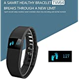 Apple IPad Mini COMPATIBLE Display Bluetooth 4.0 Waterproof Smart Bracelet, Support Pedometer / Sleep Monitoring / Call Reminder / Clock / Remote Camera / Anti-lost FunctionBy Mobicell