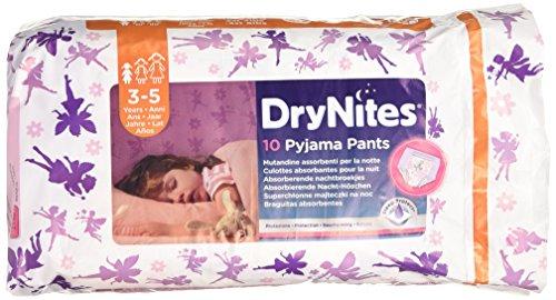 Dry Nites Pyjama Unterhosen Girl 3-5 Jahre, 3er Pack (3 x 10 Stück) - 3