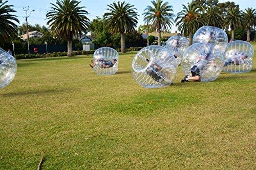 Bubble Fußball Bälle Dia 5 '(1,5 m) Bubble Fussball,Bubble Soccer,Bumper Bälle,Loopyball,Zorb Ball,Luft gefüllten Bälle (Blau Punkt) - 6