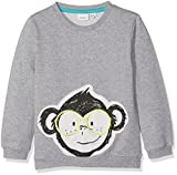 NAME IT Baby-Jungen Sweatshirt Nitfefly Sweat BRU Mini, Grau (Grey Melange), 92