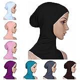 BaiTe Islamisch Stil Kopftuch Hijab kopftücher Leicht Unter Schal Knochen