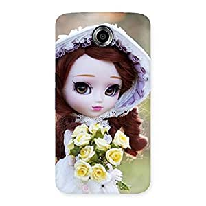 Cute Bride Angel Doll Multicolor Back Case Cover for Nexsus 6