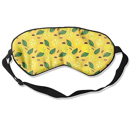 Novelty Lemon Unisex Sleep Mask Blinder Shade Eye Mask Eyeshade for Travel,Home,Hotel,Plane -