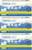 Natracare Bio-Tampons Regular, ohne Applikator, 3 Packungen