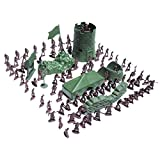 Imported 100pcs/Lot Army Combat Game Toys Soldier Set 3cm