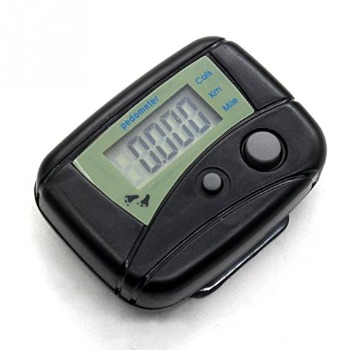 Mini Wristband Pedomer Digit LCD Run Step Walking Distance Calorie Counter Digital Held Tally Row Counter #23