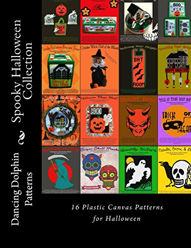 (Spooky Halloween Collection: 16 Patterns in Plastic Canvas (English Edition))