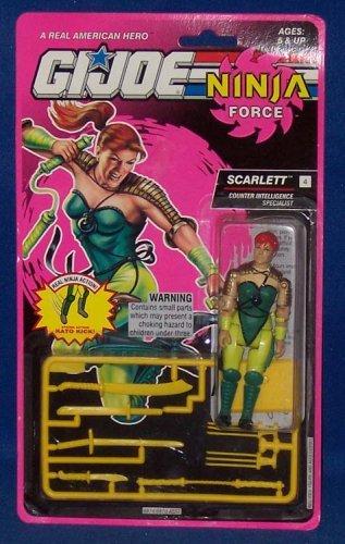 G.I. Joe Scarlett Counter Intelligence Specialist - Ninja Force Collection Actionfigure 1993 von Hasbro