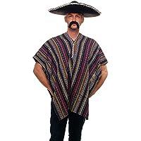 DRESS ME UP - Toller Poncho Mexikaner Mexiko Italo Western Cowboy Einheitsgröße K49