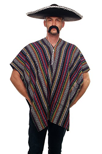 Dress Me Up Toller Poncho Mexikaner Mexiko Italo Western Cowboy