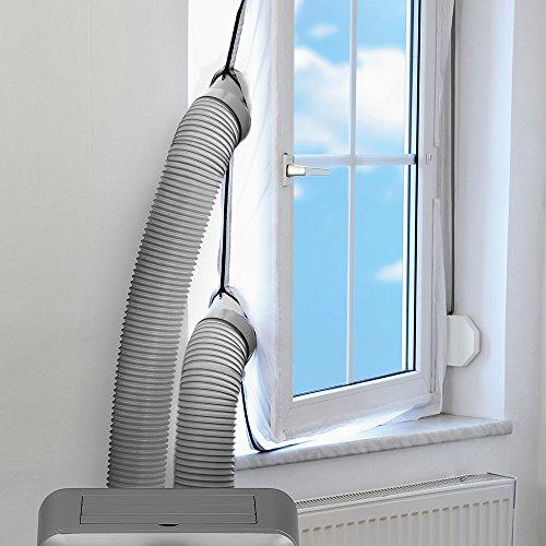 TROTEC AirLock 200 Impermeabilización de ventanas para aires acondicionados móviles Hot Air...