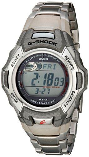 G-Shock MTGM900DA-8CR Herren-Sportuhr, solarbetrieben, Atomic, Edelstahl (Casio Uhren Atomic)