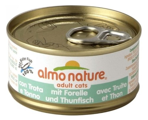 Almo Nature HFC 70 Natural - Forelle & Thunfisch - 24 x 70 g