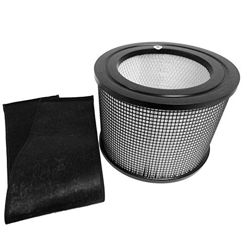 Filter Wrap (Filter Queen Defender 4000 7500 360 HEPA Plus Replacement Filter With Carbon Wrap by Saras Vac Shack)