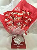 Malteser Sweet Chocolate Bouquet Hamper With Personalised...