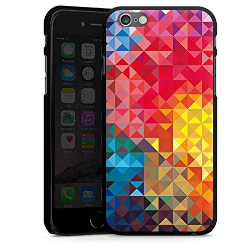 Apple iPhone 4 Housse Étui Silicone Coque Protection Printemps couleurs Motif CasDur noir