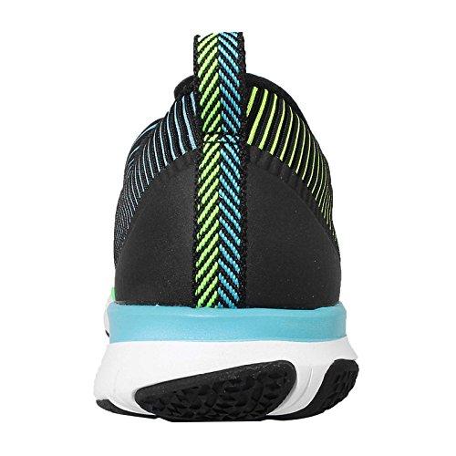 Nike Free Train Versatility, Chaussures de Fitness Homme Multicolore (Blk/White/Elctrc Grn/Hypr Pnk)