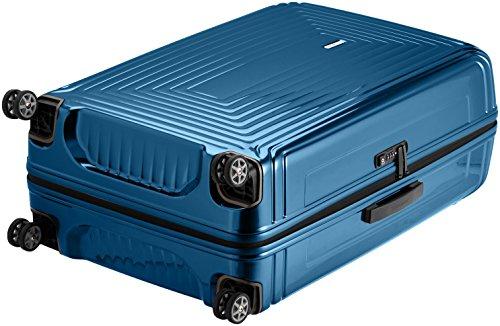 Samsonite Suitcase, 81 cm, 124 Litres, Metallic blue