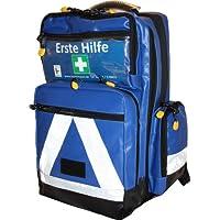 Erste Hilfe Notfallrucksack für Jugendgruppen u. Zeltlager - Plane blau mit weißen Reflexstreifen preisvergleich bei billige-tabletten.eu