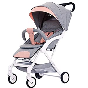 Stroller Stroller Can sit Reclining Can be folded Lightweight Portable Mini Child Baby Car Trolley   7