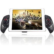 Stoga Inalámbrico Controlador Telescópico Bluetooth Gamepad Palanca de Mando para Android iPad Samsung IOS Tablet PC - Negro