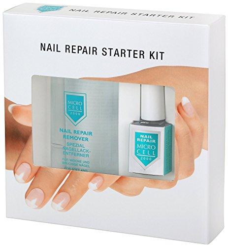 Microcell 2000 Nail Repair Set (Nail Repair, 12 ml & Nail Repair Remover, 100 ml), 1er Pack (1 x 1 Stück)
