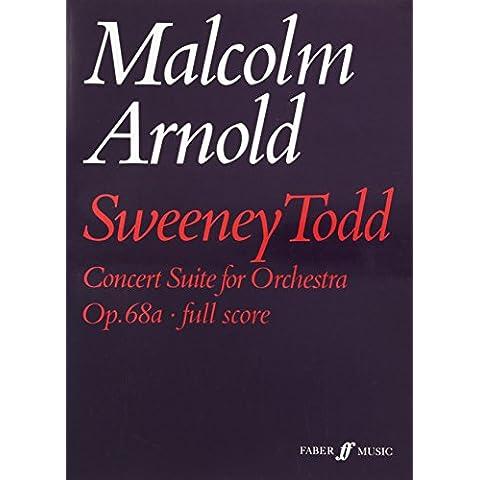 Sweeney Todd Concert Suite: Score
