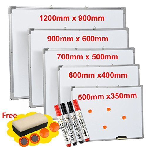 magnetic-whiteboard-dry-wipe-drawing-office-school-kids-notice-hanging-memo-new-50cm-x-70cm
