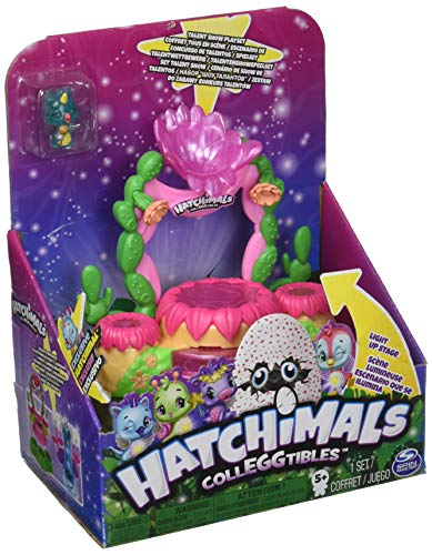 HATCHIMALS 6044155 Colleggtibles Shimmering Sands - Accessory Game for Talent Show