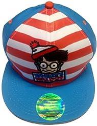 Dónde está Waldo Wally libro secrecion plana Bill gorra kruzroyal