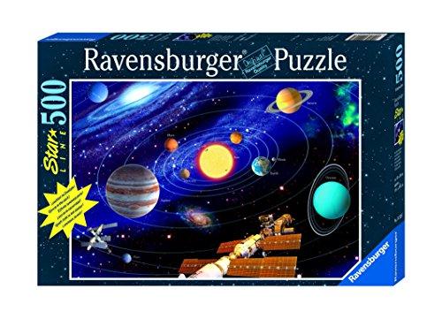 Preisvergleich Produktbild Ravensburger - 500 Teile Star Line fluoreszierend - Das Sonnensystem