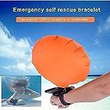 Baifeng Tragbar Tragbar Rescue Gerät Float Armband Leicht Wasser Schwimmhilfe Gerät für Erwachsene Kids & New Schwimmer ertränken mit aufblasbaren Gasbag Schwimmen Sicherheit Gerät