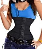 Gotoly Waist Cincher Training Korsett Body Shaper Damen Bauch Weg (XL, Black)