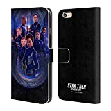 Head Case Designs Offizielle Star Trek Discovery Crew U.S.S Discovery NCC - 1031 Brieftasche Handyhülle aus Leder für iPhone 6 Plus/iPhone 6s Plus