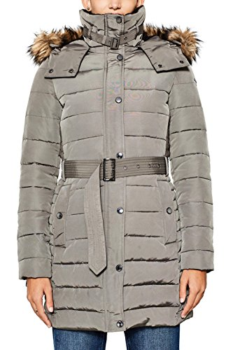 Esprit 097ee1g042, Manteau Femme, Gris (Brown Grey 025), X-Large