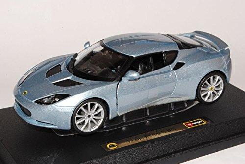 lotus-evora-s-ips-coupe-silber-1-24-bburago-modell-auto-mit-individiuellem-wunschkennzeichen