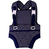 Mothertouch Baby Carrier (Navy Blue Polka Dot)