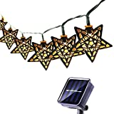 Best Linterna Solar Powered - 3M 10 LED Marroquí Linternas de la Lámpara Review