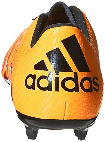 adidas X 15.3 Fg/Ag, Chaussures de Football Homme Multicolore (Solar Gold/Core Black/Shock Pink)