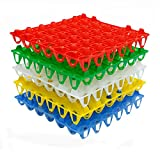 Fam & Ranch Kunststoff Ei, Tabletts für 30-teilig Eier Ei Ablageschalen
