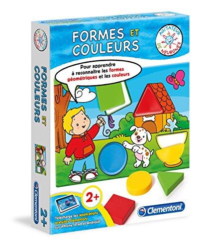 Clementani - 62388.4 - Jeu éducatif - Formes et couleurs - 2 ans et +